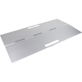 Aluminium, foldable doorstep ramps (DS4076)