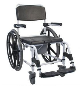 Łazienkowy wózek inwalidzki 302018-19 (na dużych kołach)