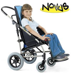 Wózek inwalidzki dla dzieci Novus