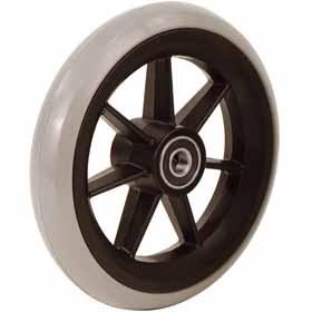 Koło gumowe do wózka inwalidzkiego – rozmiar 6′ – 150×27 mm