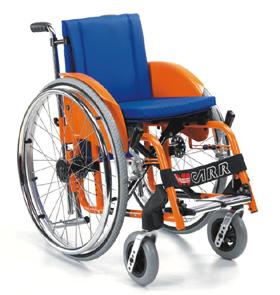 Wózek inwalidzki aktywny Offcarr Children