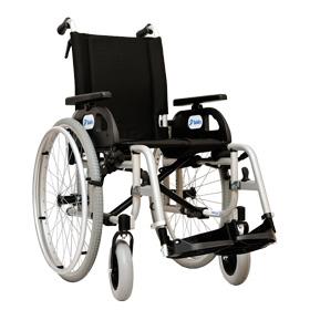 Wózek inwalidzki ręczny Delfin