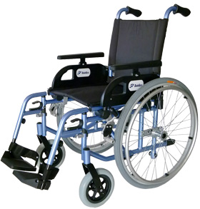 Wózek inwalidzki ręczny Flipper
