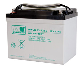 Gel battery MWLG 33-12EV  12V 33Ah