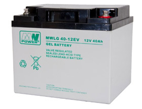 Gel battery MWLG 40-12EV  12V 40Ah