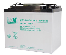 Gel battery MWLG 80-12EV  12V 80Ah