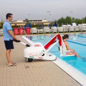 Panda Pool mobilny podnośnik basenowy