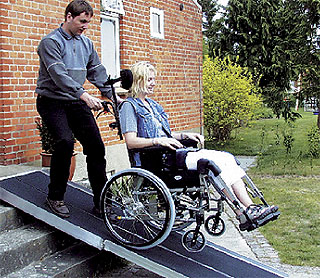 DF/SF portable wheelchair ramps (foldable)