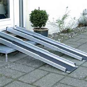 TR/LR portable wheelchair ramps (telescopic)