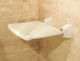 Siedzisko prysznicowe (unoszone) PR-WS-PP-B (montowane do ściany)