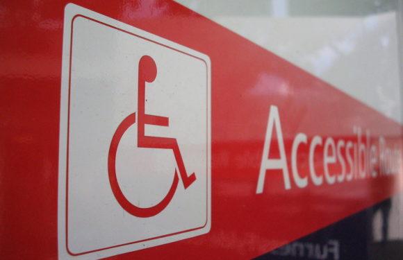 Znak osób niepełnosprawnych