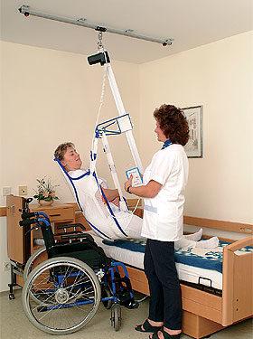 podnośnik sufitowy dla niepełnosprawnych