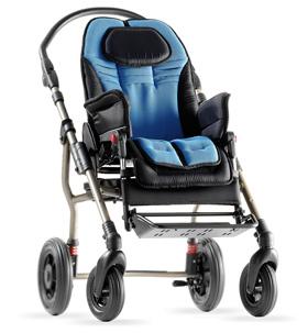 wózek inwalidzki dla dziecka ze stelażem