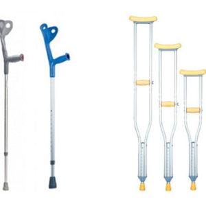 Jak prawidłowo dobierać i jak używać kul ortopedycznych?