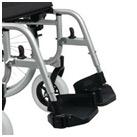 Podnóżek kompletny do wózka inwalidzkiego