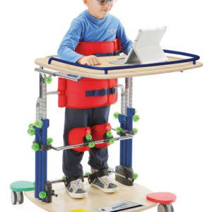 Multisensoryczny pionizator statyczny dla dzieci