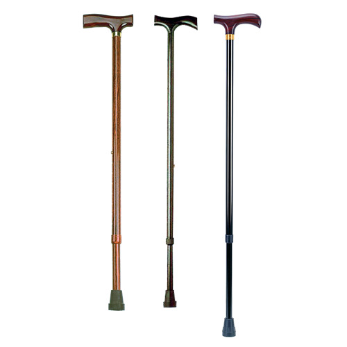 Canes with height adjustment