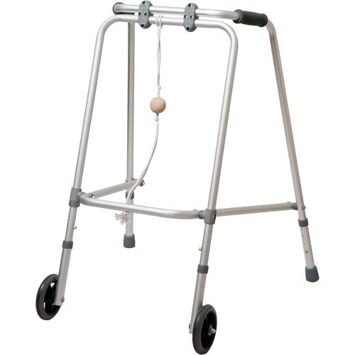 2 wheel rehabilitation walker with ball