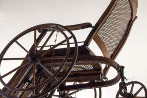 drewniany wózek z 1894r