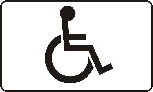 oznakowanie miejsc postojowych dla niepełnosprawnych